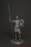 1360 - Оловянный солдатик. Чернение. Высота солдатика 54 мм