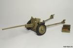 45 мм противотанковая пушка, обр. 1942 г. - Оловянный солдатик коллекционная роспись 54 мм. Все оловянные солдатики расписываются художником в ручную