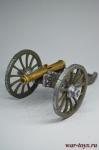6-фунтовая пушка системы XI года. Франция, 1803-1815