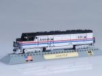 AMTRAK FP-45 diesel electric locomotive USA 1967
