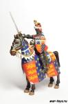 Black Prince, XIV - Коллекционный оловянный солдатик. Масштаб 1:32 - высота всадника 54 мм