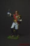 Cен Сир, бригадный генерал, 1812 - Оловянный солдатик коллекционная роспись 54 мм. Все оловянные солдатики расписываются художником вручную