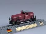 DB V60 diesel locomotive Germany 1955