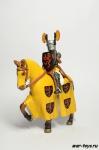Duke of Hohenklinger, XIV - Коллекционный оловянный солдатик. Масштаб 1:32 - высота всадника 54 мм