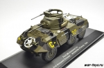 Ford M8 Armored Car 2nd Armored Division Avranches - 1944. 1/43