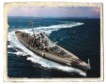 Линкор Бисмарк (NORWAY 1941), Германия, масштаб 1:1000