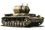 Зенитная установка Вихрь IV, Германия, масштаб 1:32 Нормандия