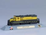 GP-20 NYS&W diesel electric locomotive USA 1955