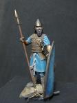 Heavy Spearman 7 c.b.c. - Оловянная миниатюра, белый металл набор для сборки, 54 мм