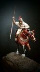Hispanic (Iberian) Warrior (набор для сборки) - Оловянная миниатюра, белый металл набор для сборки, 54 мм