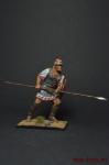 Liby-phoenician infantryman - Оловянный солдатик коллекционная роспись 54 мм. Все оловянные солдатики расписываются художником вручную