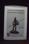 Liby-phoenician infantryman - Оловянная миниатюра, белый металл набор для сборки, 54 мм
