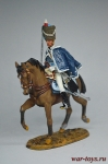 Private? British Hussars 1813 - Коллекционный оловянный солдатик. Высота всадника 54 мм. Del Prado без блистера