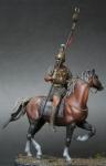 Punic Warrior 3 c.b.c (набор для сборки) - Оловянная миниатюра, белый металл набор для сборки, 54 мм