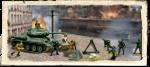 Танк T-34/85 с солдатами, Россия, масштаб 1:72 Восточный Фронт,