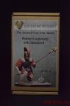 Roman Legionary with Standart - Оловянная миниатюра, белый металл набор для сборки, 54 мм