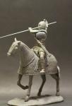 Roman cataphract 4 century AD (набор для сборки) - Оловянная миниатюра, белый металл набор для сборки, 54 мм
