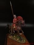 Roman warrior 4 c. a.d. - Оловянный солдатик коллекционная роспись 54 мм. Все оловянные солдатики расписываются художником вручную