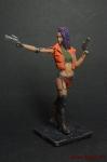 Sci-Fi: Гостья из будущего - Оловянный солдатик коллекционная роспись 54 мм. Все оловянные солдатики расписываются художником вручную