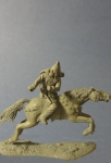 Scythian Warrior 5 c. b.c. - Оловянная миниатюра, белый металл набор для сборки, 54 мм