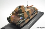 Somua S35 1ere DLM Quesnoy (France) - 1940. 1/43