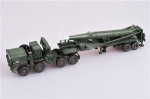U.S. Army M1001 tractor and Pershing II tactical missile