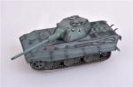 WWII German Medium tank E50 with 88 gum