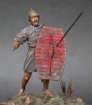 Ligurian Warrior 3 c.b.c - Оловянная миниатюра, белый металл набор для сборки, 54 мм