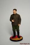 И.В.Сталин, 1939-43 гг. СССР - Оловянный солдатик коллекционная роспись 54 мм. Все оловянные солдатики расписываются художником вручную