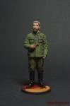 И.В.Сталин, 1939-43 гг. СССР - Оловянный солдатик, роспись 54 мм. Все оловянные солдатики расписываются художником вручную
