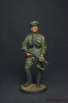 Оф. истребительно-противотанковой арт Кр Армия 1943-45 СССР - Оловянный солдатик, роспись 54 мм. Все оловянные солдатики расписываются художником вручную