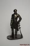 Ли 1864 - Не крашенный оловянный солдатик. Высота 54 мм.