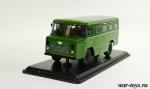 АС-38 Армейский автобус 1/43 - Масштабная коллекционная модель масштаб 1:43