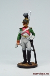 Ряд. 1-й роты Почетной королевской гвардии. Италия, 1811-12 гг.