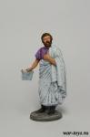Сенатор со свитком (Кассий) - Оловянный солдатик коллекционная роспись 54 мм. Все оловянные солдатики расписываются художником в ручную