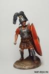 Рим. Центурион в бою - Оловянный солдатик коллекционная роспись 54 мм. Все оловянные солдатики расписываются художником в ручную