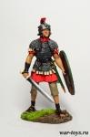 Рим. Легионер - Оловянный солдатик коллекционная роспись 54 мм. Все оловянные солдатики расписываются художником в ручную