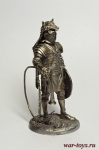 Рим. Музыкант - Не крашенный оловянный солдатик. Высота 54 мм.
