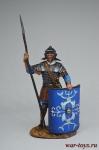 Рим. Легионер - Оловянный солдатик коллекционная роспись 54 мм. Все оловянные солдатики расписываются художником вручную