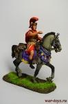 Рим. Полководец - Оловянный солдатик коллекционная роспись 54 мм. Все оловянные солдатики расписываются художником вручную