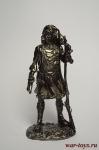 США. Оцеола, вождь семинолов 18 век - Не крашенный оловянный солдатик. Высота 54 мм.