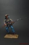 США. Гражданская война - Оловянный солдатик коллекционная роспись 54 мм. Все оловянные солдатики расписываются художником вручную
