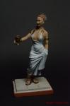 Рим. Леди - Оловянный солдатик коллекционная роспись 54 мм. Все оловянные солдатики расписываются художником вручную