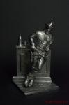 США.Буффало Билл 19 век - Оловянный солдатик. Чернение. Высота солдатика 54 мм