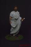 Рим. Сенатор - Оловянный солдатик коллекционная роспись 54 мм. Все оловянные солдатики расписываются художником вручную