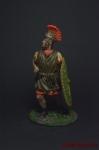 Рим. Преторианец - Оловянный солдатик коллекционная роспись 54 мм. Все оловянные солдатики расписываются художником вручную