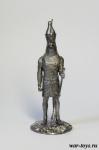 Гор - Оловянный солдатик. Чернение. Высота солдатика 54 мм