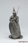 Рим. Легионер на пунические войны 3 в. до н.э. - Не крашенный оловянный солдатик. Высота 54 мм.