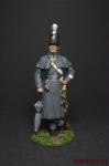 Серж.роты 4-го Собст.плк.Короля. Великобритания,1802-06 - Оловянный солдатик, роспись 54 мм. Все оловянные солдатики расписываются художником вручную
