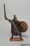 Ярл, 9-10 вв - Оловянный солдатик коллекционная роспись 54 мм. Все оловянные солдатики расписываются художником в ручную
